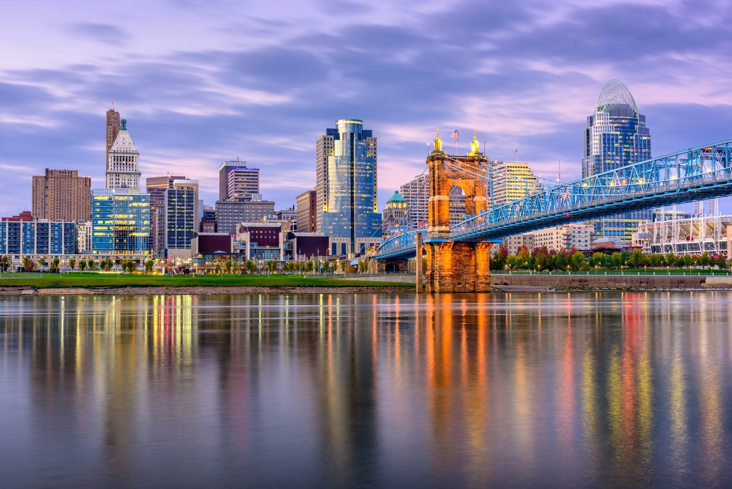 Skyline picture of Cincinnati, Ohio